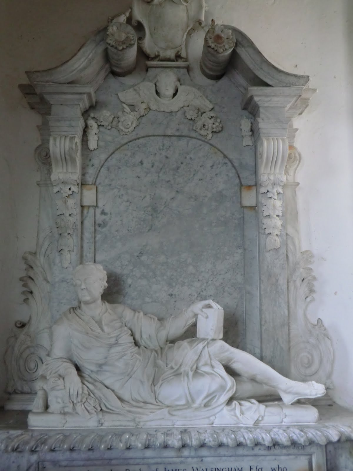 CIMG9766 Walsingham memorial, Little Chesterford church