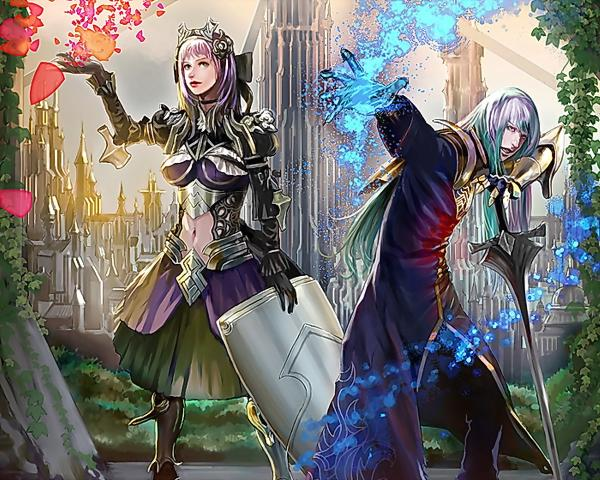 Two Sisters Of Magic, Magic And Spells