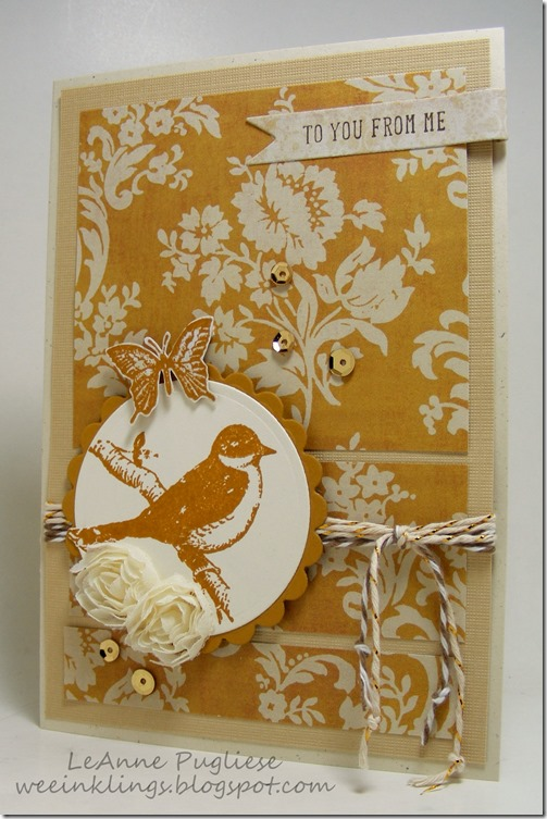 LeAnne Pugliese WeeInklings To You From Me Friends 24-7 Stampin Up