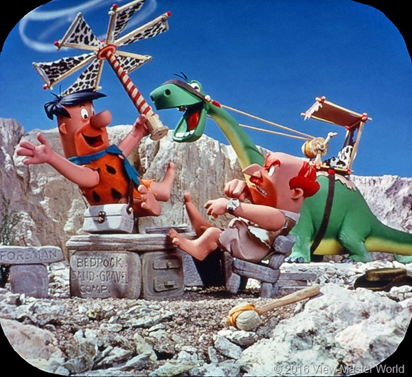 View-Master The Flintstones (B514) Reel 2 Scene 7