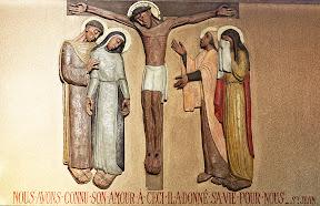 XIIème Station : Jésus meurt sur la croix