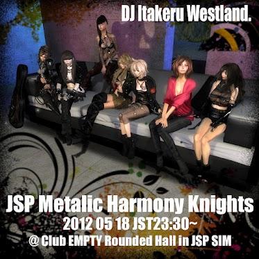 JSP Metalic Harmony Knights Poster