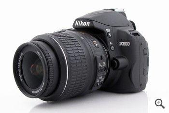 Nikon D3000, la reflex entry level : ChannelCity.it
