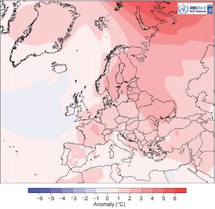 Έκθεση NOAA: Το 2020 ήταν η πιο θερμή χρονιά που έχει καταγραφεί ποτέ στην Ευρώπη