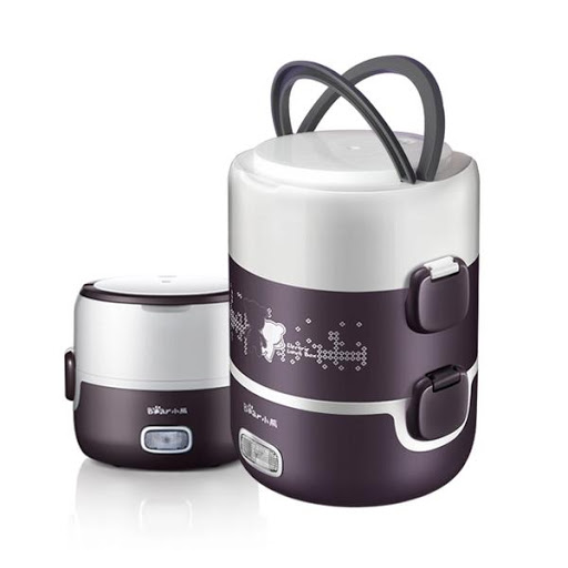 Portable mini rice cooker,food steamer,Lunch box vacuum