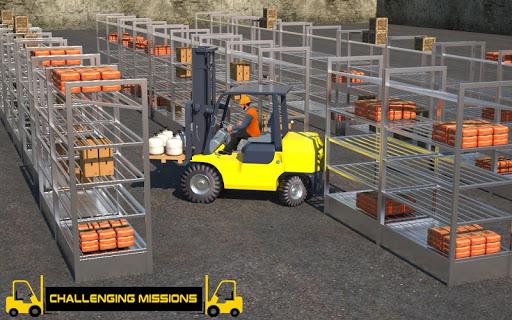 Forklift Games: Rear Wheels Forklift Driving 1.02 screenshots 1