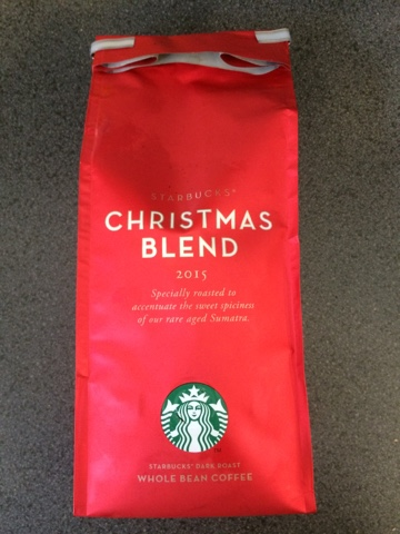 todays review starbucks christmas blend