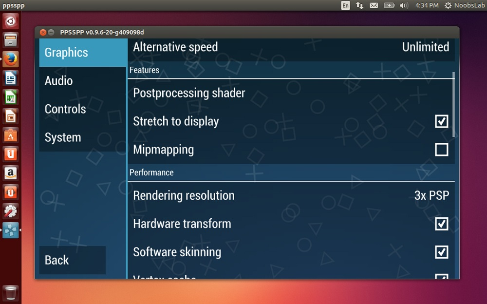 (PPSSPP) PSP Emulator available for Ubuntu/Linux Mint/other Ubuntu derivatives