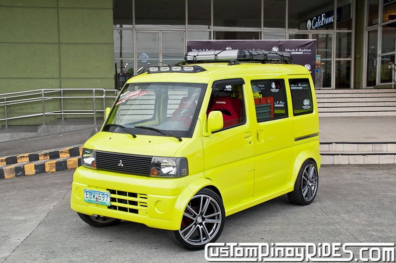 A Mitsubishi Minicab with Form AND Function Custom Pinoy Rides Car Photography Manila Philippines pic1