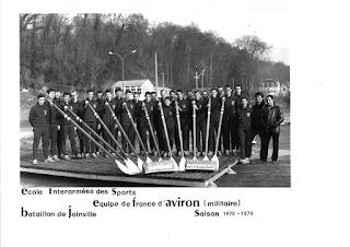 1979-La saison de l'équipe de France d'Aviron