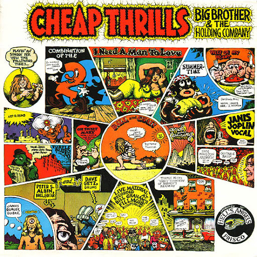 Cheap Thrills, Big Brother & The Holding Company