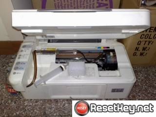 Epson CX2900 Waste Ink Pads Counter Reset Key