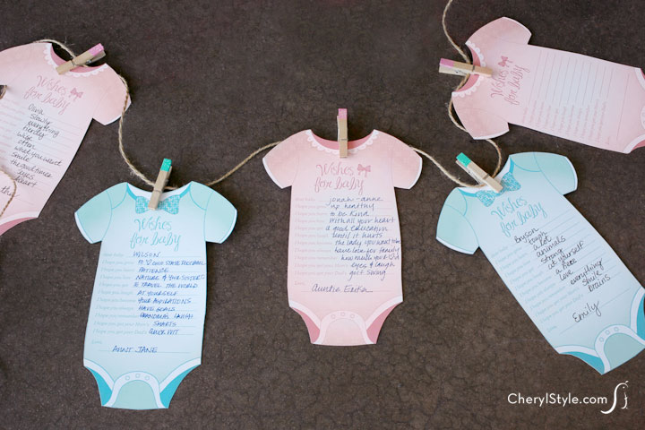 Drink Up Baby Shower Game