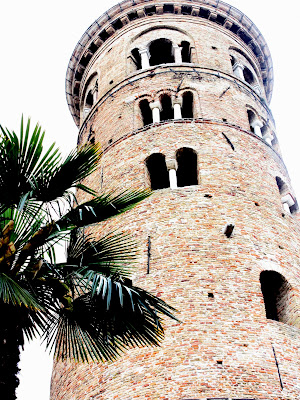 Tower in Ravenna Italy
