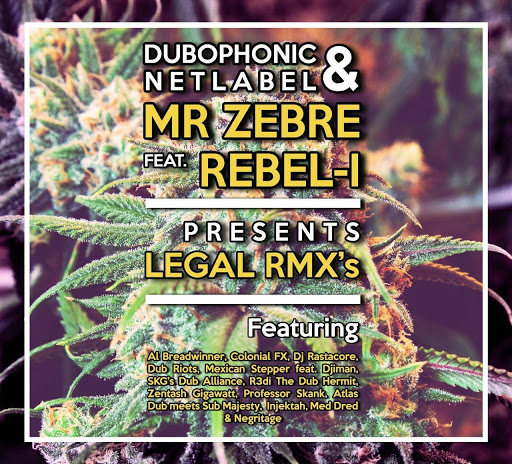 [DPH024] Mr Zebre ft. Rebel-I - Legal Rmxs / Dubophonic