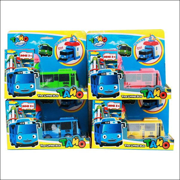 Jual Mainan Tayo The Little Bus With Garage (4 Warna) Murah 2
