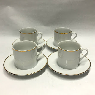 Tiffany & Co. Bone China Espresso Cups