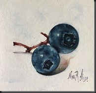 Blueberries with Crimson Stem 2