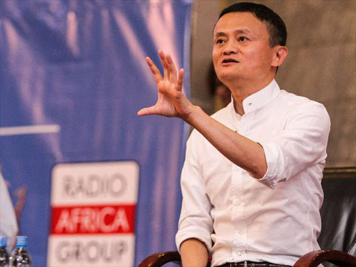 Alibaba founder Jack Ma during a Public lecture at the University of Nairobi on July 20,2017. PHOTO/ENOS TECHE.