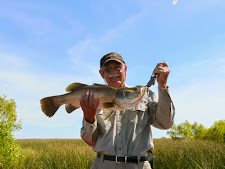 Nice Barramundi caught on the wetlands at Carmor Plains