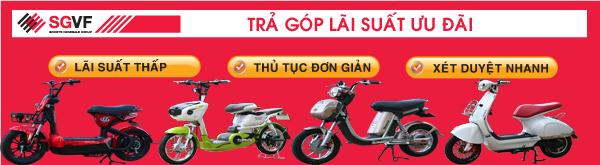 Mua hàng trả góp xe đạp điện Hà Nội