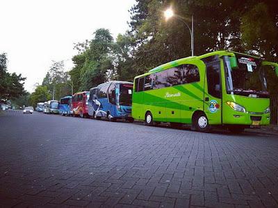 Sewa Bus Wisata Jogja Seat 30 dan 35 Harga Murah