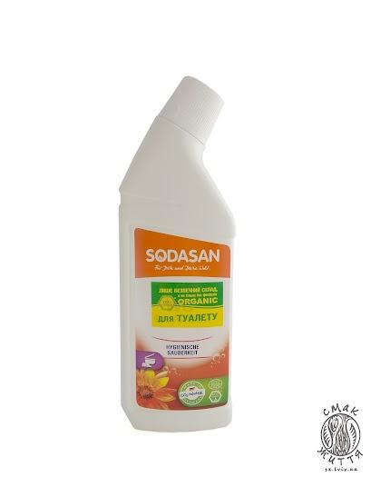 Органічний очищуючий засіб для туалету SODASAN