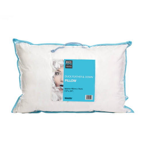 Surrey Down Home White Duck Feather & Down Pillows