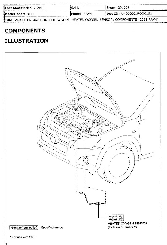 rav4 engine diagram sensor  wiring  wiring diagrams