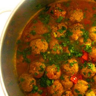 Spicy Moroccan Meatball Tagine Recipe
