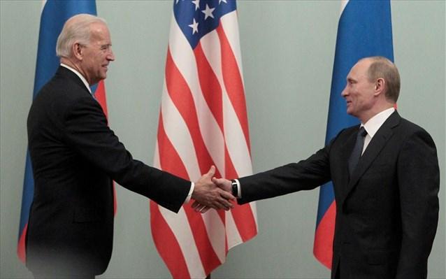 Ικανοποίηση Μπάιντεν για την προοπτική συνεργασίας με Πούτιν στον περιορισμό εκπομπής ρύπων
