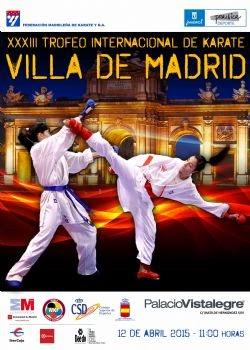33 Trofeo Internacional de Kárate Villa de Madrid