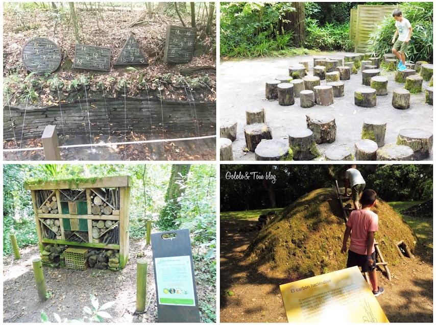 Visitar el Jardín Botánico de Gijón con niños