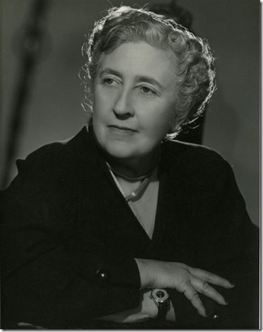 Agatha Christie portrait
