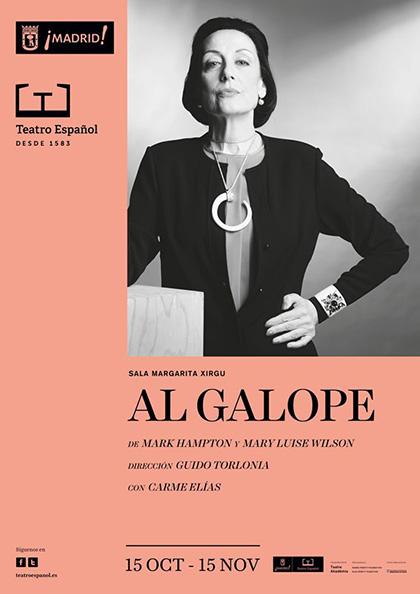 'Al Galope' con Carmen Elías, en el Teatro Español