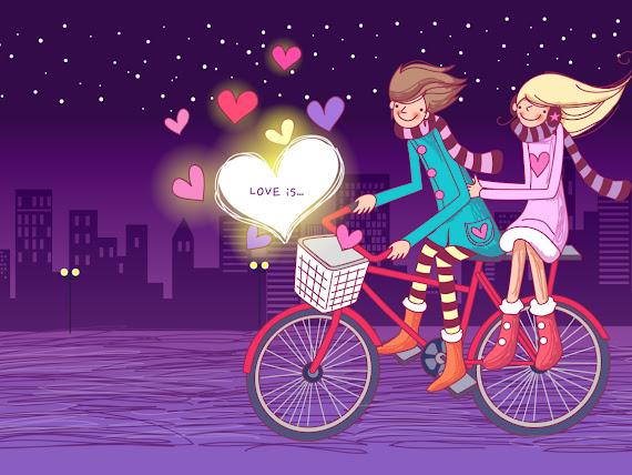 Valentinovo besplatne ljubavne slike čestitke pozadine za desktop 1152x864 free download Valentines day 14 veljača bicikl