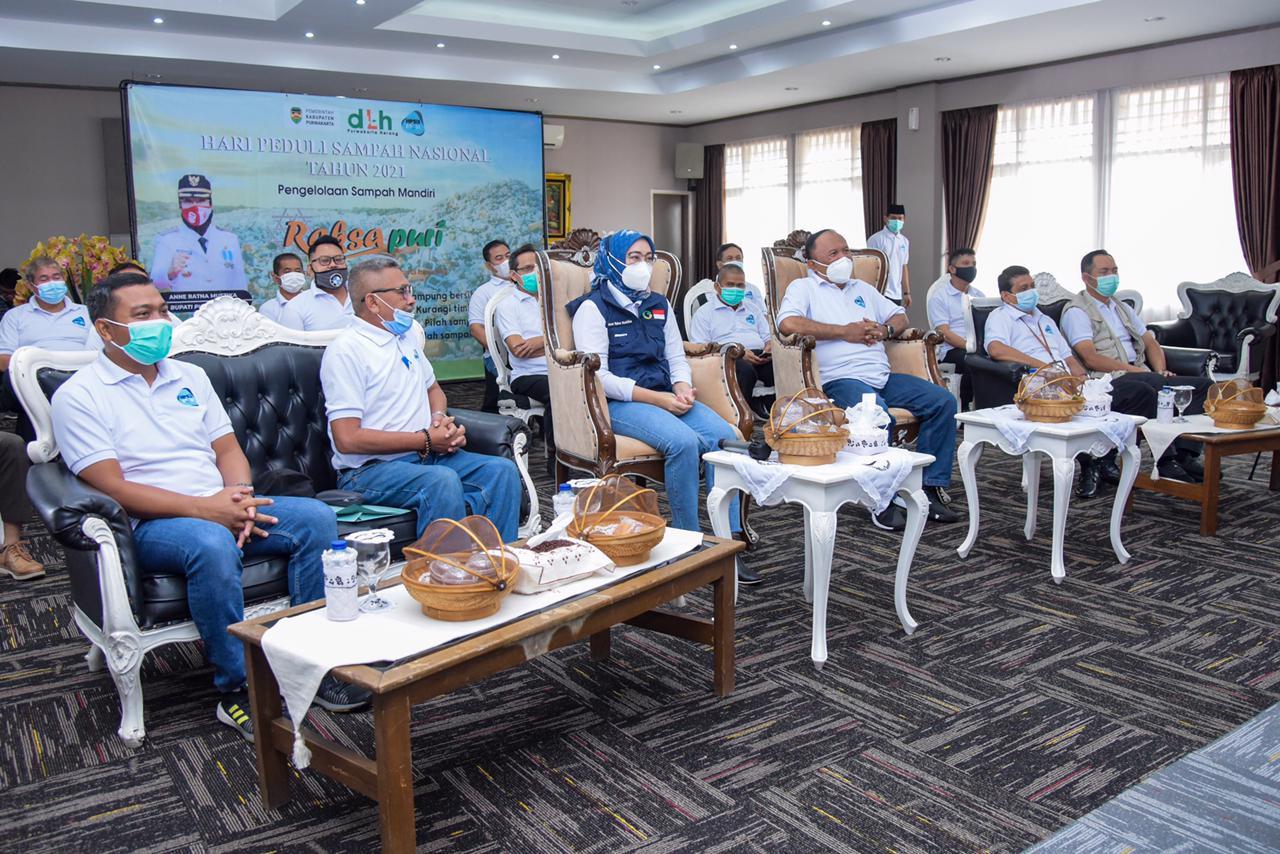 Bupati Purwakarta Menghadiri Acara Hari Peduli Sampah Nasional