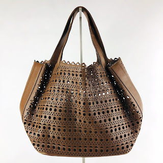**SALE** Alaïa Laser Cut Tote Bag