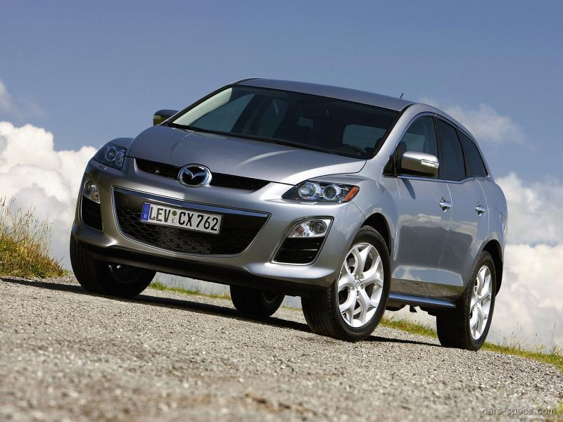 2010 mazda cx 7 suv specifications pictures prices. Black Bedroom Furniture Sets. Home Design Ideas