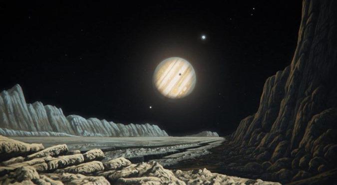 Ganimedes, uma lua de Júpiter, pode esconder vida extraterrestre 03