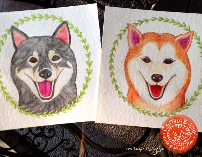 custom pet portraits cynthia bauzon arre