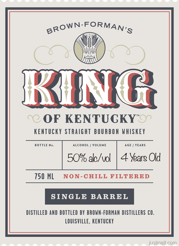 Brown-Forman's King Of Kentucky Single Barrel