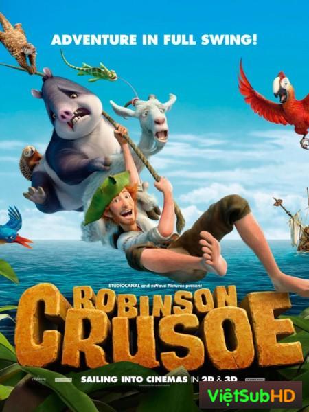 Robinson lạc trên hoang đảo