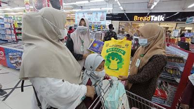 DLHK3 Sosialisasikan Pembatasan Kantong Plastik