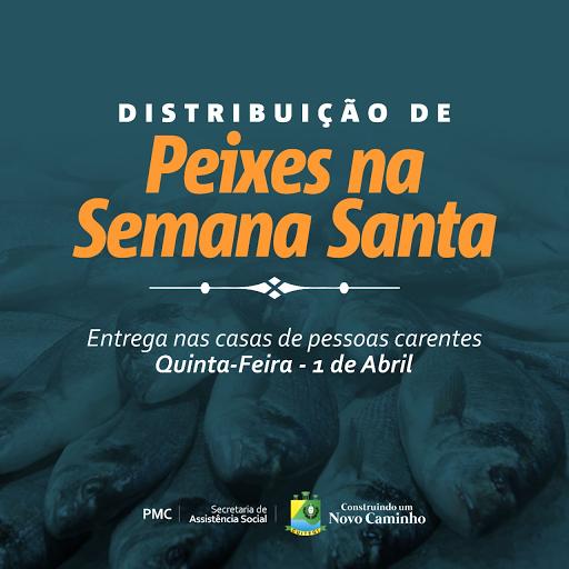 Prefeitura de Cuitegi (PB) realiza distribuição de peixes para Semana Santa