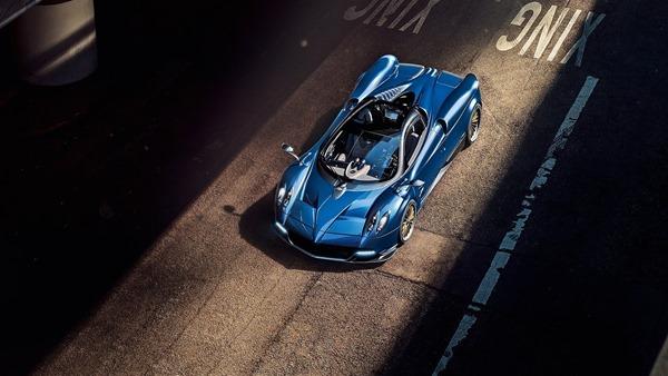 Pagani-Huayra_Roadster front