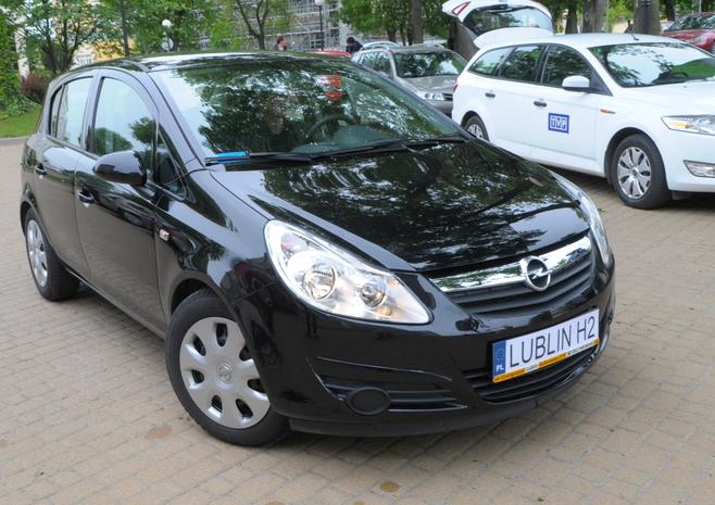 Opel Corsa D zasilany wodorem - układ zasilania według Politechniki Lubelskiej