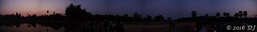 A panaroma at dawn