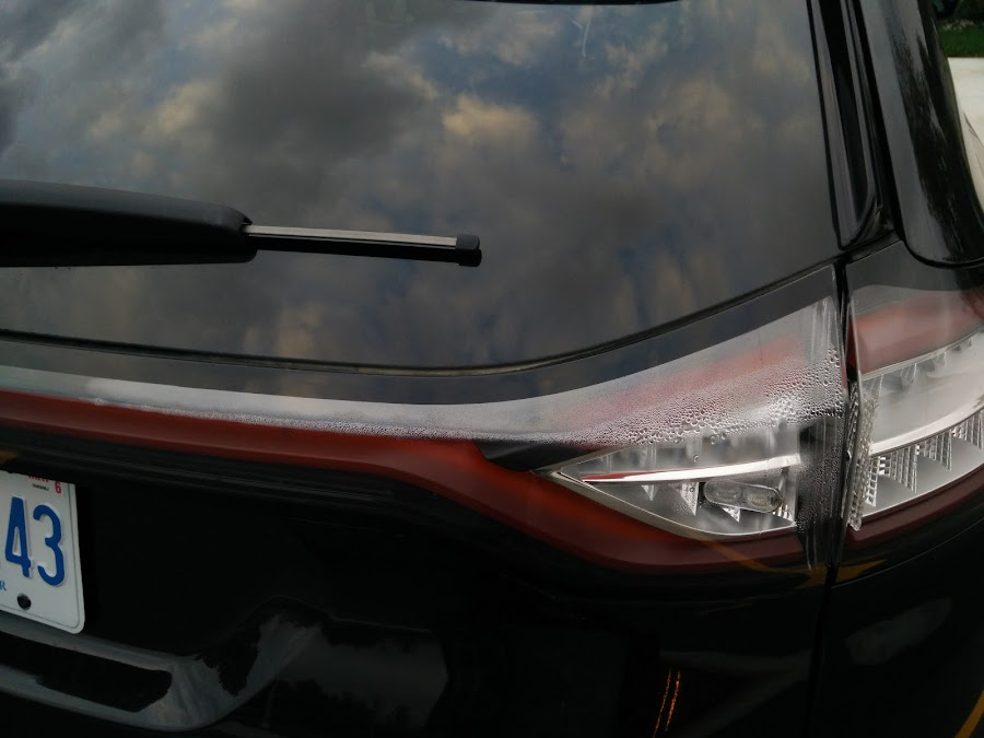 Taillight Condensation - Glass, Lenses, Lighting, Mirrors, Sunroof