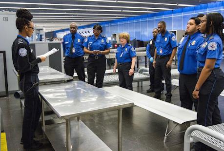 TSA Worker Says Security Screeners Owed Virus Hazard Pay
